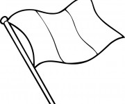 Coloriage dessin  Drapeau 12