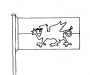 Coloriage dessin  Drapeau 16