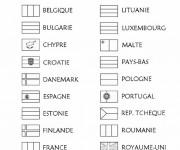 Coloriage drapeau gratuit imprimer liste 40 60 - Coloriage drapeau portugal ...