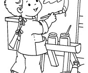 Coloriage et dessins gratuit Ecole 32 à imprimer