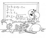 Coloriage et dessins gratuit Ecole 35 à imprimer