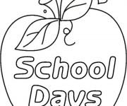Coloriage et dessins gratuit Ecole 36 à imprimer