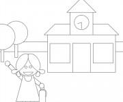 Coloriage et dessins gratuit Ecole 48 à imprimer