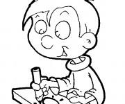 Coloriage et dessins gratuit Ecole 54 à imprimer