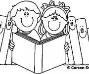 Coloriage et dessins gratuit Ecole 56 à imprimer