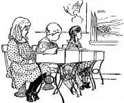 Coloriage et dessins gratuit Ecole 57 à imprimer