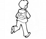 Coloriage et dessins gratuit Ecole 63 à imprimer