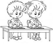 Coloriage et dessins gratuit Ecole 73 à imprimer