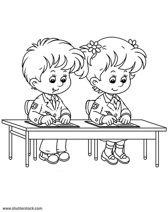 Coloriage et dessins gratuits Ecole 73 à imprimer