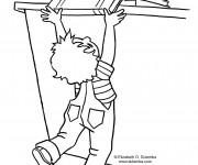 Coloriage et dessins gratuit Ecole 76 à imprimer