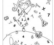Coloriage et dessins gratuit Ecole 81 à imprimer