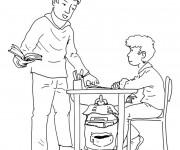 Coloriage et dessins gratuit Ecole 83 à imprimer