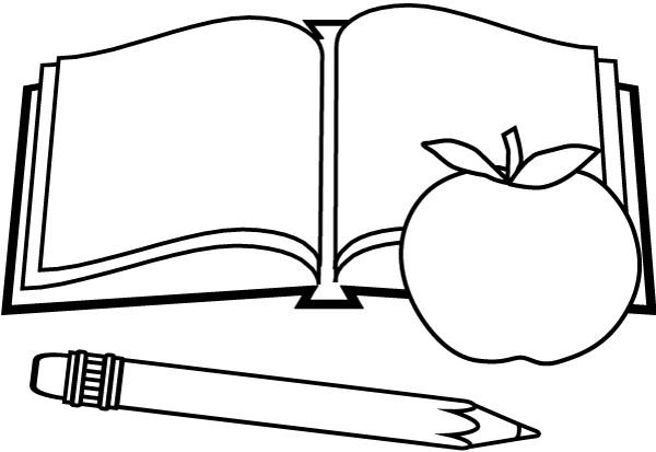 Coloriage et dessins gratuits École Le Cahier à imprimer