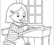 Coloriage et dessins gratuit École Les Classes à imprimer