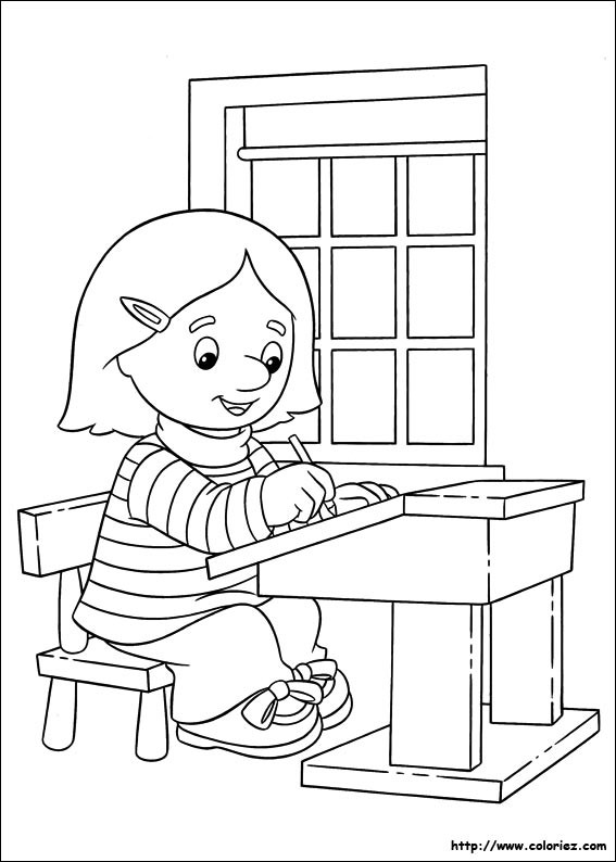 Coloriage et dessins gratuits École Les Classes à imprimer
