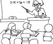 Coloriage et dessins gratuit École Maternelle couleur à imprimer