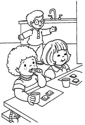 Coloriage go ter pour les enfants dessin gratuit imprimer - Dessin gouter ...
