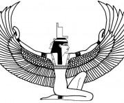 Coloriage et dessins gratuit Egypte 19 à imprimer