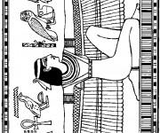 Coloriage et dessins gratuit Egypte 23 à imprimer