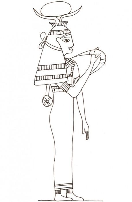 Coloriage et dessins gratuits Egypte 24 à imprimer