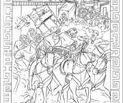 Coloriage et dessins gratuit Egypte 25 à imprimer