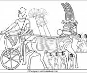 Coloriage et dessins gratuit Egypte 28 à imprimer