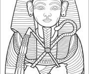 Coloriage et dessins gratuit Egypte 3 à imprimer