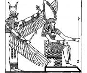 Coloriage et dessins gratuit Egypte 30 à imprimer