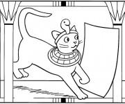 Coloriage et dessins gratuit Egypte 32 à imprimer