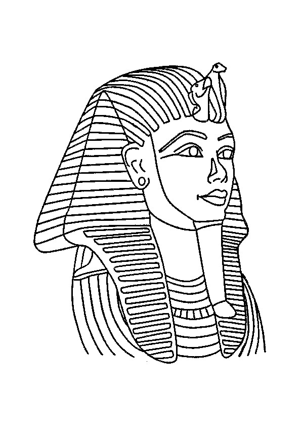 Coloriage et dessins gratuits Egypte 33 à imprimer
