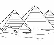 Coloriage et dessins gratuit Egypte 34 à imprimer