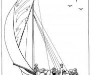 Coloriage et dessins gratuit Egypte 35 à imprimer