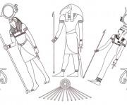Coloriage et dessins gratuit Egypte 36 à imprimer