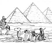 Coloriage et dessins gratuit Egypte 39 à imprimer