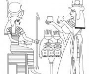 Coloriage et dessins gratuit Egypte 40 à imprimer