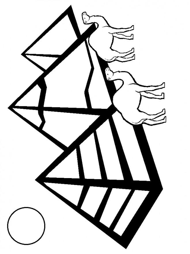 Coloriage et dessins gratuits Egypte 41 à imprimer