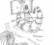 Coloriage et dessins gratuit Egypte 43 à imprimer