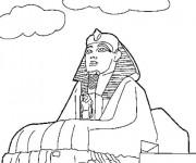 Coloriage et dessins gratuit Egypte 45 à imprimer