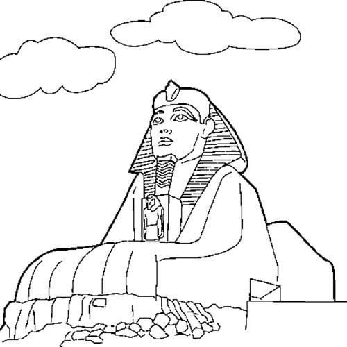 Coloriage et dessins gratuits Egypte 45 à imprimer