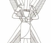 Coloriage et dessins gratuit Egypte 47 à imprimer
