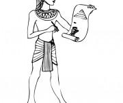 Coloriage et dessins gratuit Egypte 52 à imprimer