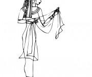 Coloriage et dessins gratuit Egypte 54 à imprimer