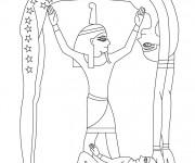 Coloriage et dessins gratuit Egypte 58 à imprimer