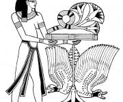 Coloriage et dessins gratuit Egypte 60 à imprimer