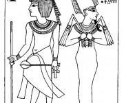 Coloriage et dessins gratuit Egypte 62 à imprimer