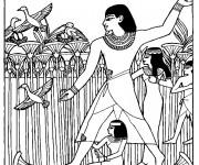 Coloriage et dessins gratuit Egypte 64 à imprimer