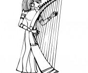 Coloriage et dessins gratuit Egypte 65 à imprimer