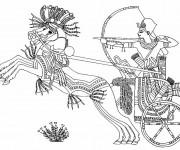 Coloriage et dessins gratuit Egypte 71 à imprimer