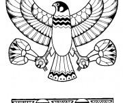 Coloriage et dessins gratuit Egypte 74 à imprimer