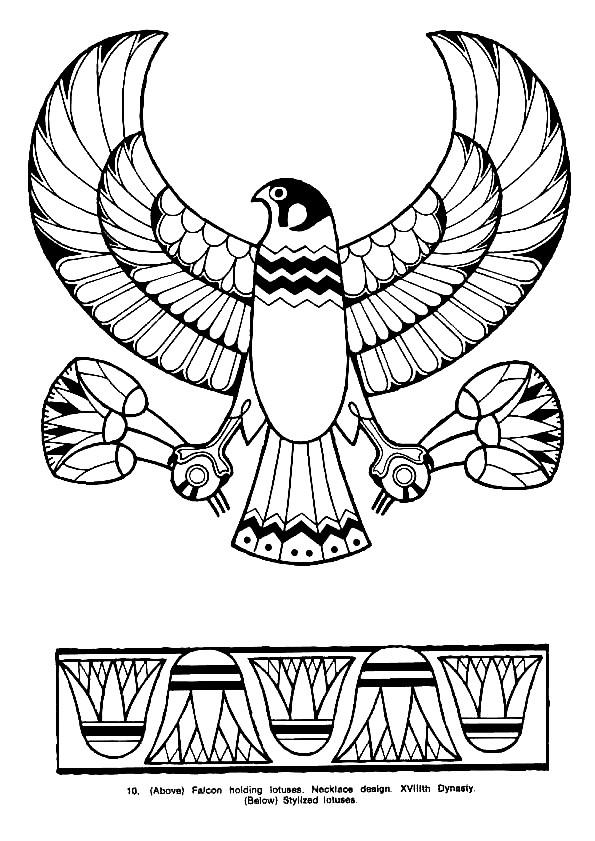 Coloriage et dessins gratuits Egypte 74 à imprimer
